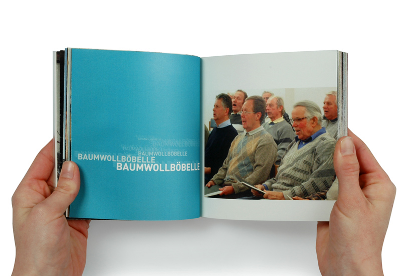 Gesang Bauwollbobbel