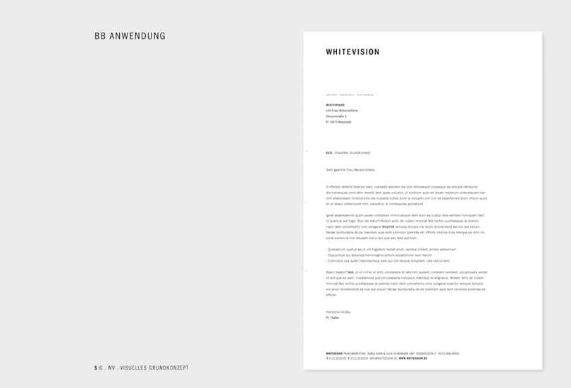 whitevision stationery
