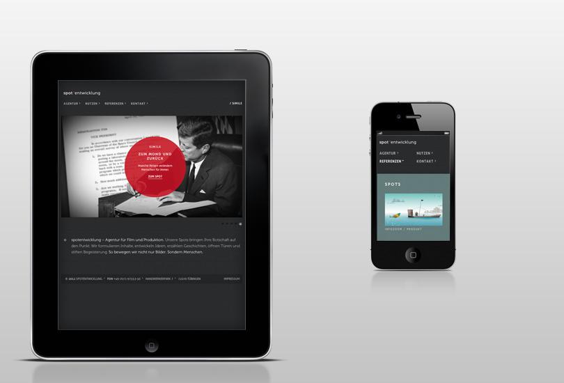 responsive design spotentwicklung