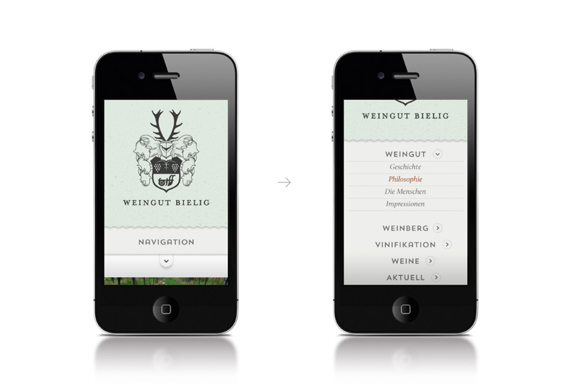 mobile devices and the webpage
