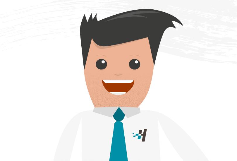 illustration of a guy