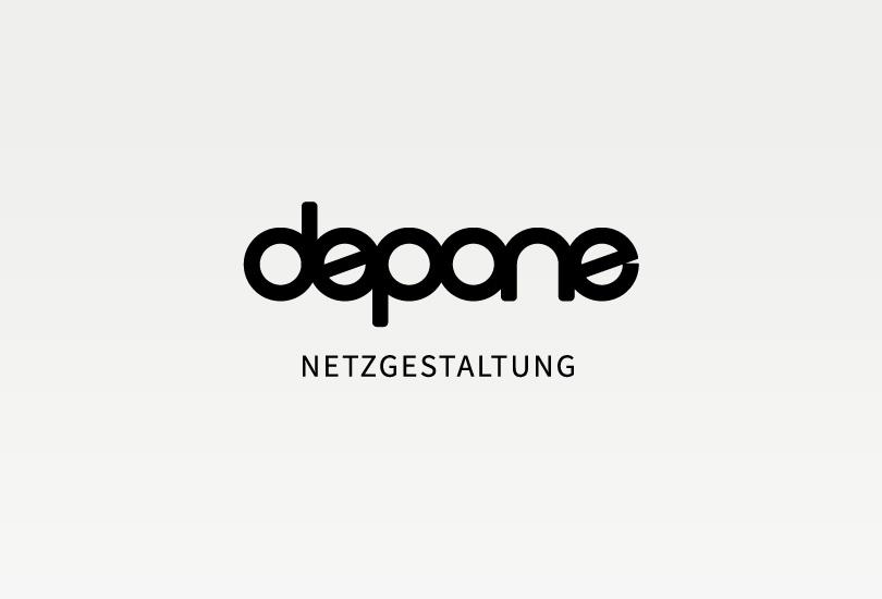 logo of depone netzgestaltung