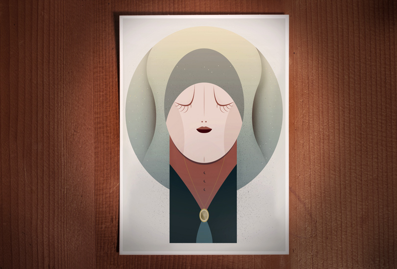 illustration of sister moon