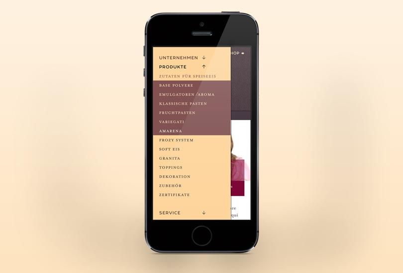 iceberg screendesign mobile